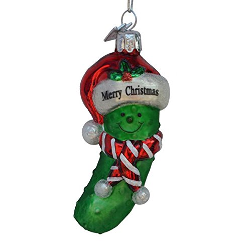 merry Christmas Pickle Ornament