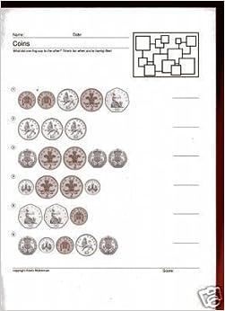 teaching resources 100 worksheets coins ks1 teachers kevin mulrennan books. Black Bedroom Furniture Sets. Home Design Ideas
