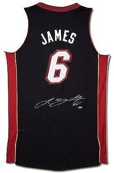 Signed Lebron James Jersey - Away Black - Upper Deck Certified,NBAJERSEYS_WKDSQBH46,Signed Lebron James Jersey - Away Black - Upper Deck Certified - Autographed NBA Jerseys