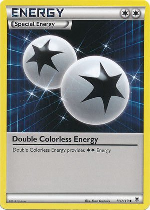 Pokemon - Double Colorless Energy (111/119) - XY Phantom Forces (Pokemon Double Colorless Energy compare prices)
