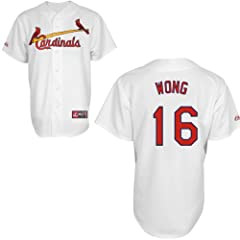 Kolten Wong St Louis Cardinals Home Replica Jersey by Majestic by Majestic