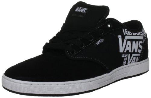 Vans Women's Preston Black/White Trainer VQGR7MT 10 UK
