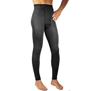 Solidea 0302A5-M-NE Mens Uomo Plus Advanced Micro Massage Legging-Med-BLK by Solidea