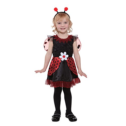 Totally Ghoul Lil' Ladybug Fairy, Size Toddler, Ages 2-4 Years