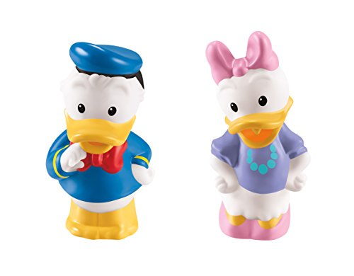 Fisher-Price Little People Magic of Disney Donald Duck & Daisy Duck - 1