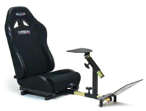 GameRacer Pro Driving Simulator - Black