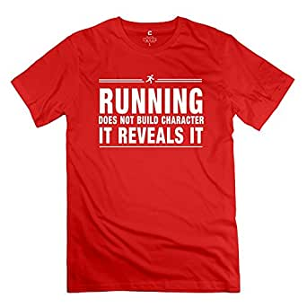 Mksd Funny Running Character Design T Shirt