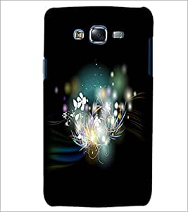 PrintDhaba Flowers D-2282 Back Case Cover for SAMSUNG GALAXY J5 (Multi-Coloured)