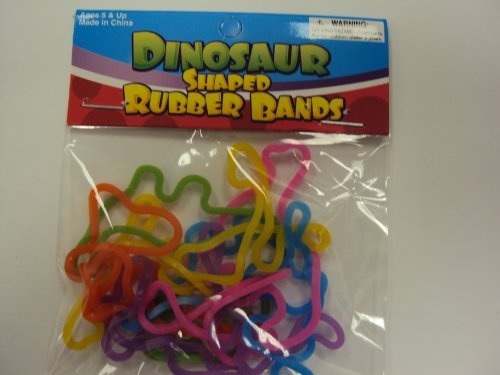 41sf3pdqVeL Cheap Buy  Dinosaur Rubba Bandz Shaped Rubber Bands Bracelets 12pack