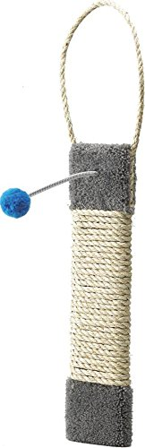 Ware Manufacturing Carpeted Kitty Scratch Surface Door Hanger Post, 19-Inch (Ware Scratching Post compare prices)