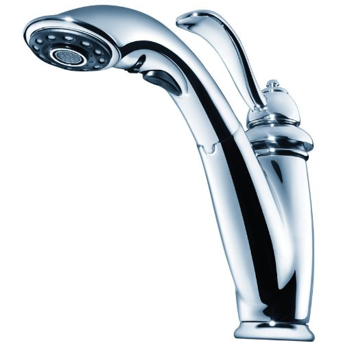 Price Pfister T532-7CC Pull Out Spray Kitchen Faucet, Polished Chrome