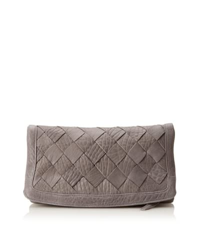 Heather Hawkins Women's Large Love Is Clutch, Grey