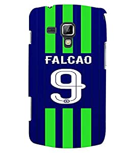 PRINTVISA Football Falcao Case Cover for Samsung Galaxy S Duos 2 S7582