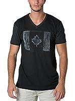 CANADIAN PEAK Camiseta Manga Corta Janada (Negro)