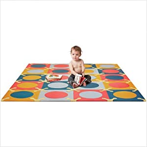 Playspot Foam Tiles in Bright Colors