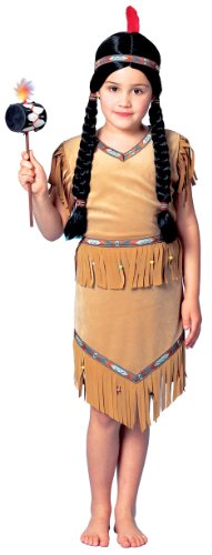 Girls Little Pow Wow Indian Girl Costume - Toddler