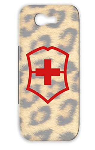 Skid-Proof Pocket Knife Symbols Shapes Swiss Army Army Red For Sumsang Galaxy Note 2 Case
