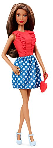 Barbie Fashionistas Doll - Red Ruffles (Red Barbie compare prices)