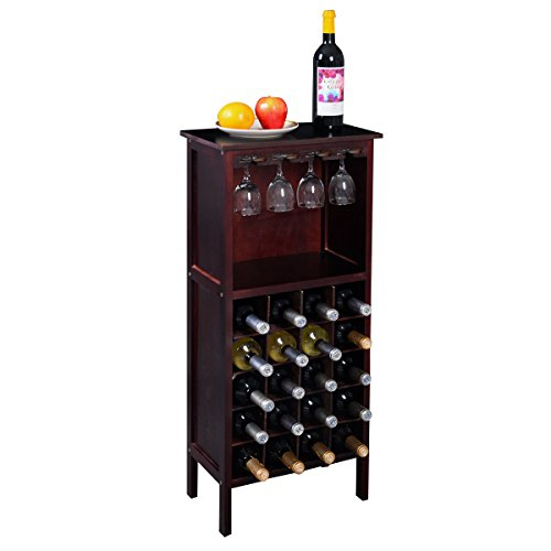 Classic Wood Wine Rack - W4 (Stact Modular Wine Rack White compare prices)