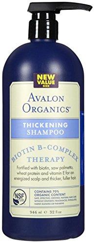 Avalon Organics Biotin B-Complex Shampoo, 32 Ounce