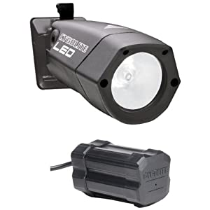 CygoLite Hi-Flux II LED Xtra: High-Brightness LED Bike Light with Frame Mount NiMH Battery