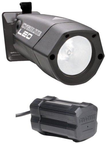 CygoLite Hi-Flux II LED Xtra: High-Brightness LED Bike Light with Frame Mount NiMH Battery