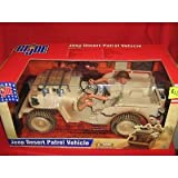 G I Joe Jeep Desert Patrol Vehicle