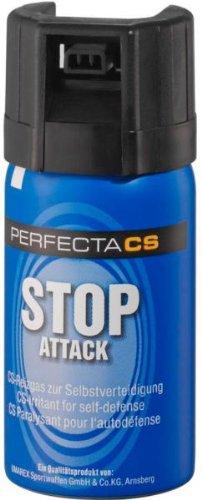 KO Gas Spray CS Gas 40 ml Verteidigungsspray Selbstverteidigung + G8DS® Aufkleber