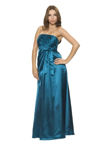 Astrapahl, Evening dress, cocktail dress, bride, wedding, color turquoise