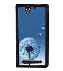Wish Flower 2D Hard Polycarbonate Designer Back Case Cover for Sony Xperia C4 Dual :: Sony Xperia C4 Dual E5333 E5343 E5363