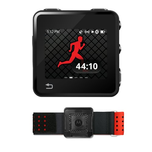 Motorola MOTOACTV 8GB Refurbished GPS Fitness Tracker and Music Player with Sports ArmBand Running Gps