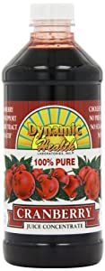 Dynamic Health, Concentrate Juice, Cranberry , 16-Ounce