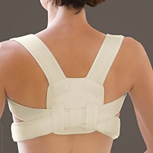 Posture Corrective Brace- Beige 22-46 by FootSmart