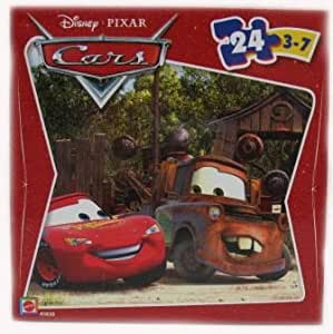 disney pixar cars lightning mcqueen mater 24 piece puzzle toys games. Black Bedroom Furniture Sets. Home Design Ideas