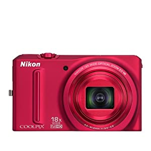 COOLPIX S9100 Red