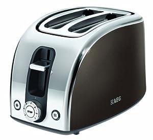 AEG AT 7100B Toaster / Doppelschlitz / Entnehmbarer Brötchenaufsatz