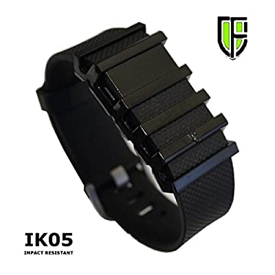 FITCLAD EXO-SKEL Cover for Fitbit Charge / Charge HR - Black