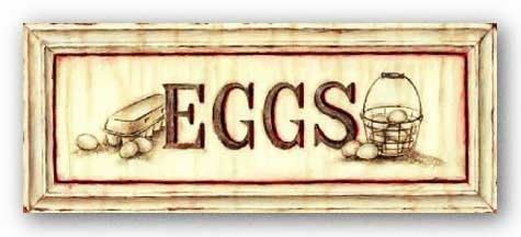 Eggs Sign