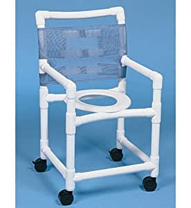 Alimed DURALIFE Economy Shower Chair With Twin Wheels For Elderly