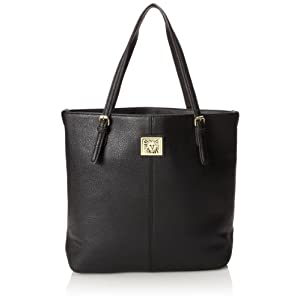 Anne Klein Perfect Large AA-0019449AA Tote,Black,One Size