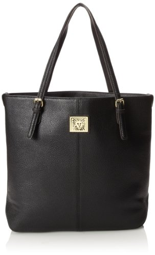 Anne Klein Perfect Large AA-0019449AA Tote Handbag,Black,One Size