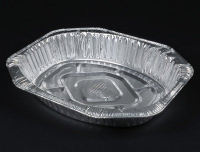 Durable Aluminum Foil Oval Roaster (40010) durable 231203