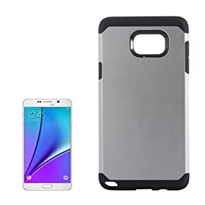 Crazy4Gadget TPU + PC Armor Combination Case for Samsung Galaxy Note 5 / N920(Silver)