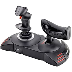 Thrustmaster - T.Flight Hotas X Joystick for PS3 and PC with Detachable Throttle Control