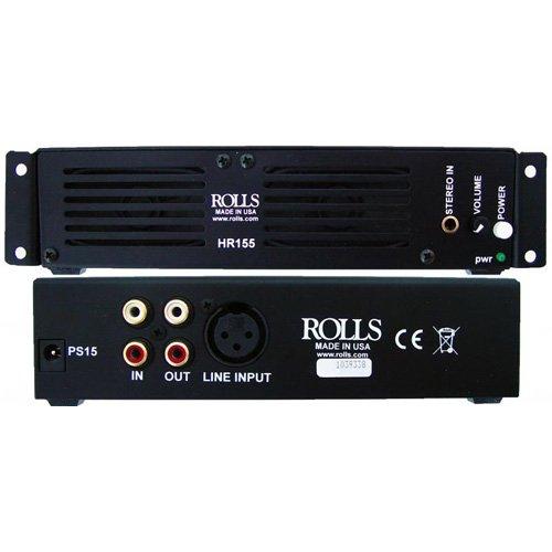 Rolls Rack Mount Speaker Monitor - Rolls HR155