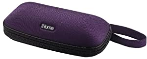 iHome iP37 Portable Stereo Speaker Case for iPod and iPhone (Purple)