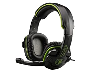 Sades 3.5mm Stereo Gaming Headset for PC Laptop (Green)