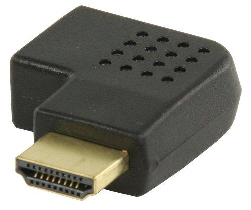 Valueline Angled HDMI Adaptor Black
