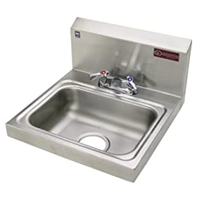 Griffin H30-224C Hand Wash Sink and Faucet