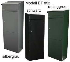 Standbriefkasten SafePost EuroTrend 855 Racinggreen  BaumarktÜberprüfung und Beschreibung